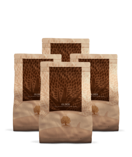 4 x 3KG ESSENTIAL OLDER SMALL SIZE