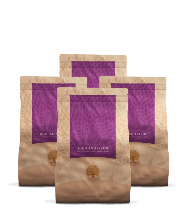 4 x 3KG ESSENTIAL HIGHLAND LIVING SMALL SIZE