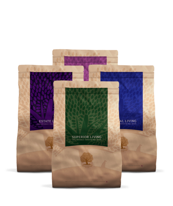 ESSENTIAL PACK LIVING SMALL SIZE 4X3KG